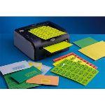 Techmay logetiq 1400 étiquettes copieurs (3,81 x 9,9 cm)