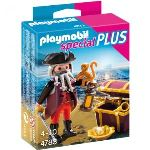 Playmobil 4783 Special Plus - Pirate barbe grise avec coffre