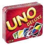 Mattel Uno Deluxe boite métal
