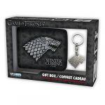 Abystyle Coffret cadeau portefeuille et porte-clés Stark Game Of Thrones