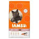 IAMS Croquettes au saumon et au poulet pour chat adulte - 3kg