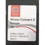 TomTom Carte SD GPS Europe 2019 v4 - Nissan Connect 2 - Database Q1.2018