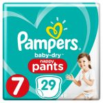 Pampers Couches Baby-dry Pants - Le Paquet De 29 Couches