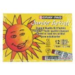 Cray-Pas Boîte de 12 pastel Cray-Pas Junior Artist coloris assortis