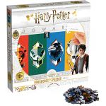 Winning Moves Puzzle Harry Potter House Crests 500 pièces