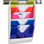 CEP Office Solutions Présentoir Mural 5 compartiments Blanc / Happy,