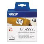 Brother DK-22225 - Rouleau d'étiquettes en papier continu 38 mm x 30,48 m