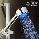 Douche avec lumière Eco Led Shower ronde