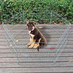 wiltec Parc pour chiots Parc à chien 6 pcs. 70x76cm par élément