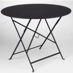 Fermob Bistro - Table de jardin ronde pliante Ø96 x 74 cm