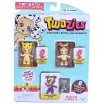Giochi Preziosi Coffret 3 bébés Twozies  + 3 animaux (modèle aléatoire)