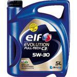Elf Huile moteur Evolution Full-Tech C3 5W30 Essence et Diesel 5 L