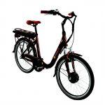 Wayscral Vélo Électrique Everyway E2/24 Chocolat (batterie Non Incluse)