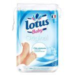 Lotus Baby Original - 70 maxi cotons carrés bi-faces