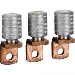 Schneider Electric 3 cosses de sertissage pour c ble en aluminium de 150 - mm² et cloisons de phase - LV429504