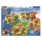 Ravensburger Paw Patrol - 4 puzzles 10 pièces