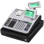Casio SE-S400SB-SR-FR - Caisse enregistreuse SE-S400S, imprim. thermique, incl. petit tiroir caisse, coloris argent