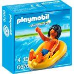 Playmobil 6676 Summer Fun - Vacancier et bouée de rafting