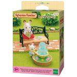 Epoch Sylvanian Families 4535 - Banc de jardin et fontaine