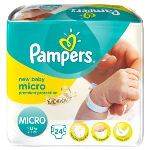 Pampers New Baby Micro (1-2,5 kg) - 24 couches