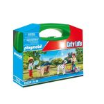 Playmobil Valisette Enfants et chiens City Life 70530