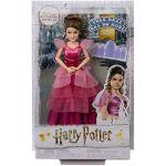 Mattel Harry Potter Poupée Articulée Hermione Granger de 24 Cm en Costume Bal de Noël avec son Invitation, à Collectionner, Jouet Enfant, Gfg14