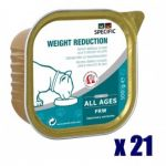Specific Chat FRW Weight Reduction 7 x 100 grs