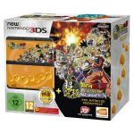 Nintendo New 3DS + Black Dragonball Pack