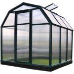 Palram Serre de jardin Ecogrow 3,9 m² - Résine et polycarbonate - Double parois