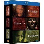 Coffret 3 films - Conjuring : les Dossiers Warren + Annabelle + L'Exorciste