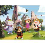 Ravensburger Puzzle 30 pièces Mini-Loup joue au chevalier -