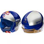 Briko Vulcano Fis 6.8 Rb Lvf Silver Blue Gold Casque - Silver Blue Gold - 56 - Silver Blue Gold