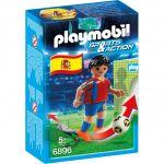 Playmobil 6896 Sports et Actions - Joueur de foot Espagnol