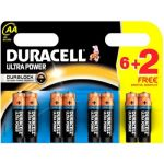 Duracell 8 piles AA LR06 Ultra Power
