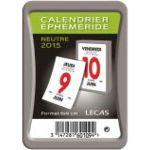 Lecas 60109100 - Bloc éphémeride 2012 (6 x 9 cm)