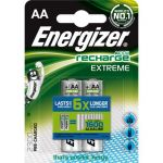 Energizer AccuRecharge Extreme blister de 2 piles rechargeables HR06 type AA