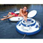Intex Glaciere gonflable flottante pour piscine 89 cm