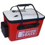 Seven bass BAKKAN HARD ROUGE ET BLANC 36