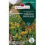 Royalfleur Pfrf08699 Graines De Mélange De Fleurs Mes Terrains Difficiles 25 M²