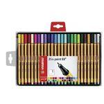Stabilo Point 88 - Coffret de 25 stylos-feutres pointe fine assortis