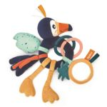 Kaloo Hochet d'activités Jungle Alban le toucan multicolore