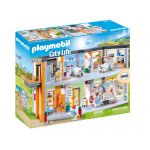 Playmobil City Life Figurine hôpital aménagé 70190 multicolore