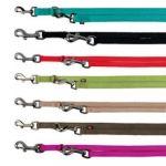 Trixie Premium laisse réglable double - L-XL: 2,00 M/25 mm, noir