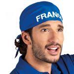 Bandana bleu de supporter France