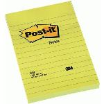 Post-It 6 Notes repositionnables 100 feuilles (102x152 mm)