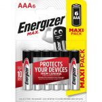 Energizer 6 piles LR03/AAA Max