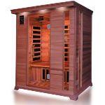 France Sauna Luxe 3 - Sauna cabine infrarouge pour 3 personnes