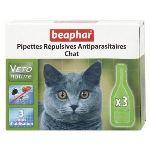 Beaphar Pipettes répulsives antiparasitaires pour chat