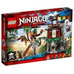 Lego 70604 - Ninjago : L´île de la Veuve du Tigre