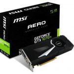 MSI GeForce GTX 1070 Ti AERO 8 Go
